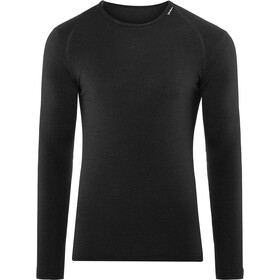 Woolpower Lite Cuello redondo, black